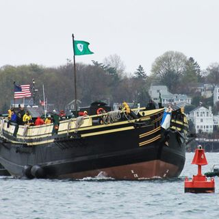 After Nearly 3 Years, Salem Tall Ship Returns Home