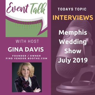 Interviews at Memphis Wedding Show July 2019