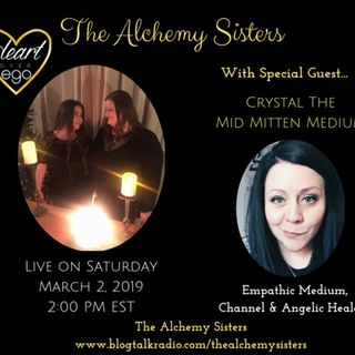 The Alchemy Sisters with Crystal, The Mid Mitten Medium