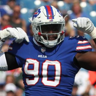 Buffalo Bills' DE Shaq Lawson Talks About Philadelphia Eagles Game And More