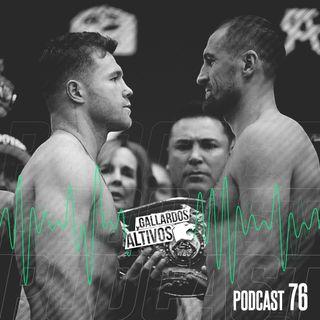 Podcast #76: Canelo se enfrenta a Kovalev / Liga MX J17 / NFL Week 9