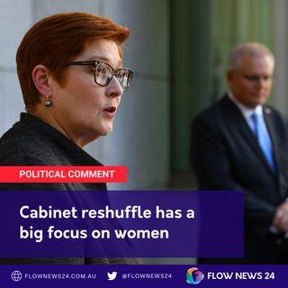 PM Morrison's Female-friendly Cabinet reshuffle