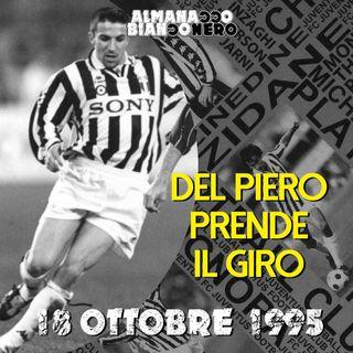 18 ottobre 1995 - Del Piero prende il giro