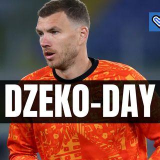La prima giornata di Dzeko da nuovo calciatore dell'Inter