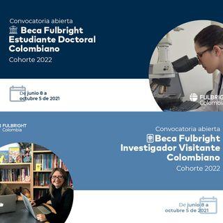 Convocatoria de becas para estudiantes de doctorado, investigadores y profesores colombianos