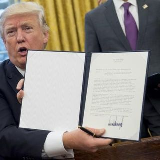 Trump Pulls Out Of TPP