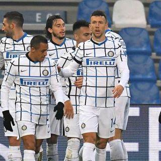 L'Inter si rialza: primo ko per il Sassuolo. La Juve senza CR7 non vince, la Dea cade ancora