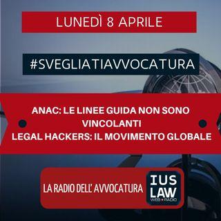 ANAC: LE LINEE GUIDA NON SONO VINCOLANTI – LEGAL HACKERS: IL MOVIMENTO GLOBALE – #SvegliatiAvvocatura