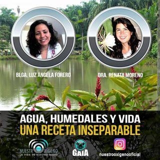 NUESTRO OXÍGENO Agua humedales y vida una receta inseparable - Luz Ángela Forero-Renata Moreno