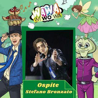 Il mago Stefano Bronzato ospite di Wawawiwowa