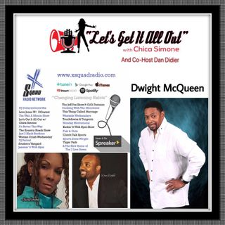 Today's guest will be Dwight McQueen!!