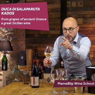 Grillo | Kados - Duca Salaparuta | Wine tasting with Filippo Bartolotta