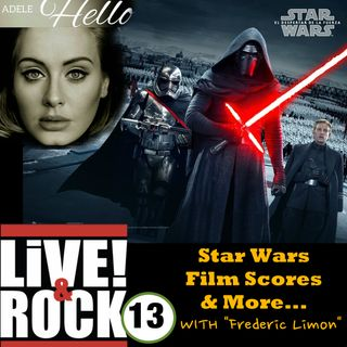 Ep 13:  Film Scores, Star Wars and More...