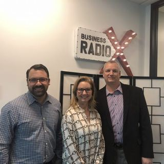 Elizabeth Hoemeke with Elavon, Marc Gorlin with Roadie and Matt Sander with Mint Ventures