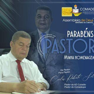 Dia do Pastor 2020 - Homenagem