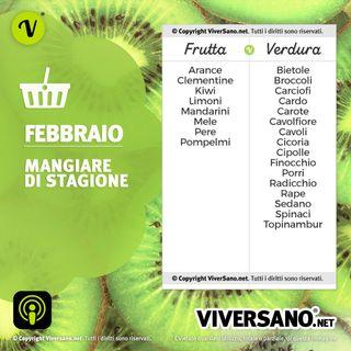 Frutta e verdura di stagione a Febbraio