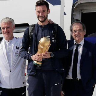 Gol Gol Gol: La bienvenida en París de la selección de Francia, campeona del mundo
