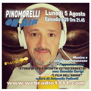 Pino Morelli On Air - Episodio n.29 del 5 Agosto 2019