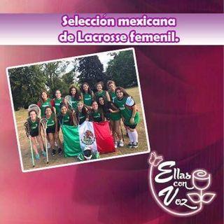 Selección mexicana de Lacrosse femenil.