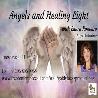 Angels and Healing Light Show ~ Special Guest: Carolan Carey ~ 12Nov2019