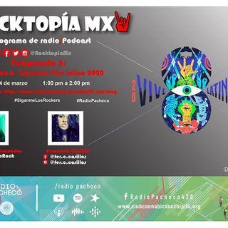 #RADIOPACHECO Temporada 3 - Programa 6 Especial: VIVE LATINO 2020 🎧🎙🎚