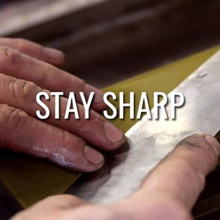 Stay Sharp - Morning Manna #3108