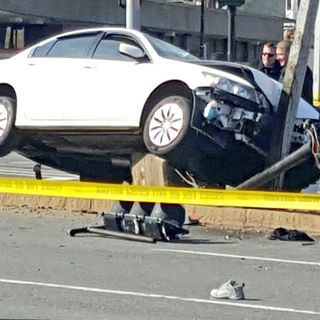Two Teens Hit By Out Of Control Car In Roxbury