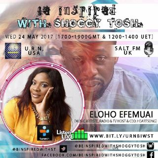 Be Inspired with Shoggy Tosh - Eloho