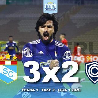 La Cancha: Sporting Cristal 3 - Cienciano 2