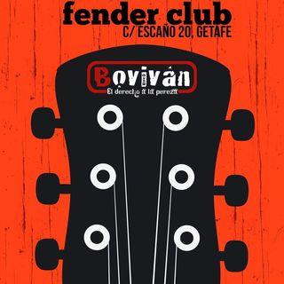 Boviván en el Fender Club