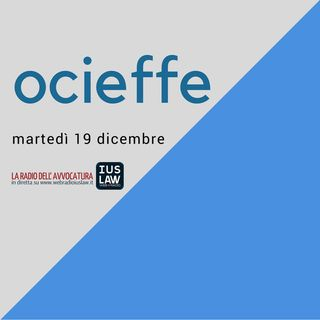 Assemblea OCIEFFE - Martedì 19 dicembre 2017