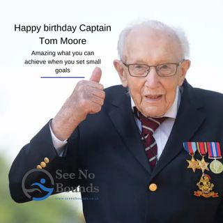 Happy Birthday Captain Tom Moore