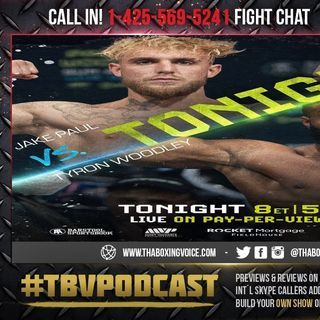 ☎️Jake Paul vs Tyron Woodley Live Fight Chat🔥Will The Hype Stop🚥🛑