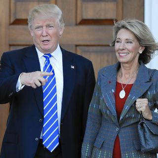 Must-Hear Info. on Trump's Education Secretary Pick, Betsy Devos