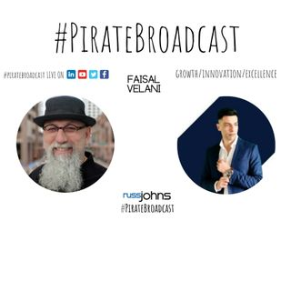 Catch Faisal Velani on the PirateBroadcast