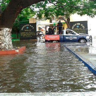 Daños por viento y lluvia en Juchitán