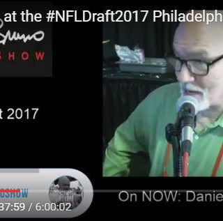 We were LIVE from the #NFLDraft2017 Philadelphia for 6 HOURS breaking it down like only Tony can do!