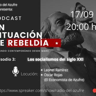 En situación de rebeldía - Socialismo Siglo XX y XXI