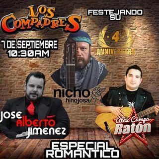 Los Compadres, Nicho Hinojosa, Alex Campa Y José Alberto Jiménez ( Especial De Aniversario Vol. 4 )