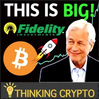 BITCOIN NEWS: Fidelity CEO & JP Morgan Bullish On Bitcoin - Crypto Mass Marketing