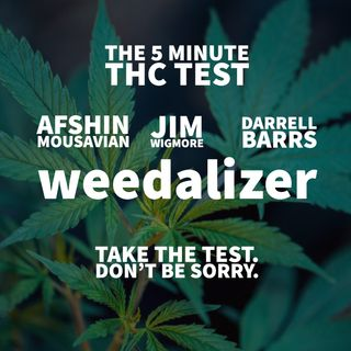 Weedalizer™ The 5 Minute THC Test with Afshin Mousavian, James Wigmore & Darrell Barrs