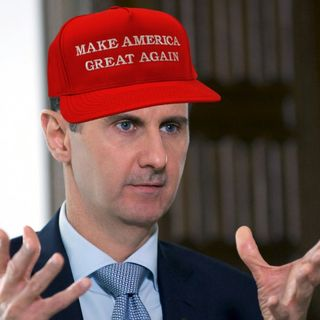 CWR#610 Bashar Al-Assad Warns US Troops To Leave
