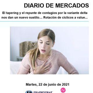 DIARIO DE MERCADOS Martes 22 Junio
