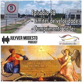 Episódio 58 - Trânsito, por Julyver Modesto