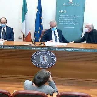Conferenza stampa post valutazioni EMA su Astrazeneca