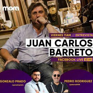 Juan Carlos Barreto en Mora Contenidos