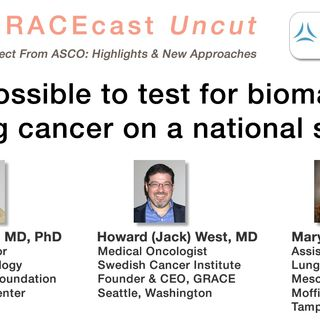 Is it possible to test for biomarkers in lung cancer on a national scale?