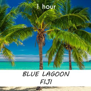 Blue Lagoon, Fiji   1 hour RIVER Sound Podcast   White Noise   ASMR sounds for deep Sleep   Relax   Meditation   Colicky