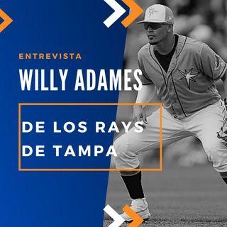 Conociendo a Willy Adames de los Rays de Tampa