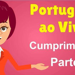 Cumprimentos e despedidas em português